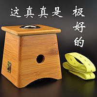 Аппарат из бамбука на одно отверстие для Мокса прижигания (для сигар), фото 1