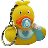 Детская игрушка Lilalu | Funny Ducks Пупс мальчик утка - брелок (L1749SA)