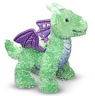 Мягкая игрушка Melissa & Doug Дракоша Зефир, 25 см (MD7570)
