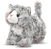 Мягкая игрушка Мраморный котенок Рокси, 18 см (MD7541)