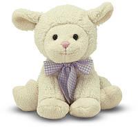 Мягкая игрушка Melissa & Doug Застенчивый ягненок, 23 см (MD7400)