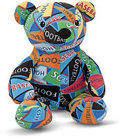 Мягкая игрушка Melissa & Doug Медведь-спортсмен Zach. Beeposh (MD7275)