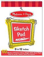Альбом для рисования Melissa & Doug Sketch Pad, 23х30,5 см (MD4194)