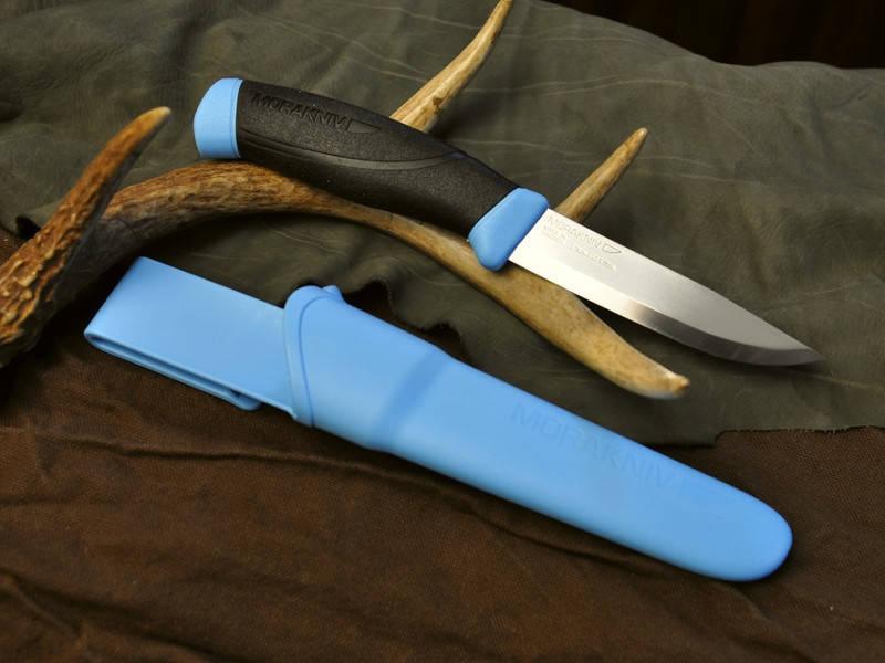 Ножи из нержавеющей стали Mora Companion Blue12159