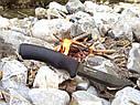 Нож из углеродистой стали Mora BushCraft BLACK PINPAC 10791, фото 2