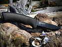 Нож из углеродистой стали Mora BushCraft BLACK PINPAC 10791, фото 3