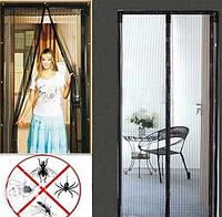 Анти москитная сетка для дверей на магнитах