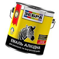 Емаль алкідна 2,8кг ПФ-116 ЗЕБРА 32 Салатна