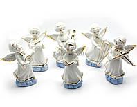 Набор фарфоровых статуэток Ангелочки