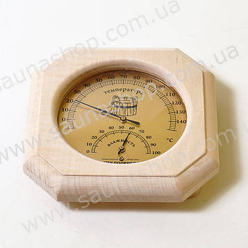 Термогігрометр для лазні, сауни Віктер ТГС1