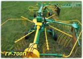 Грабли роторные ГР-700П