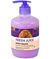 Fresh Juice жидкое крем мыло с дозатором Маракуйя и Камелия 460 мл