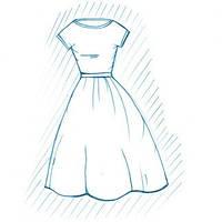 Покраска платья и халата
