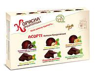 Конфеты шоколадные со стевией Ассорти 600 г KK-0023