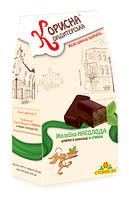 Конфеты шоколадные со стевией Желейные Насолода 150 г KK-0022