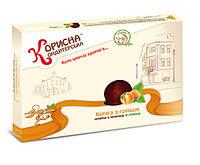 Конфеты шоколадные со стевией Курага с орехом 1 кг KK-0024