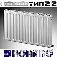 Стальной радиатор тип 22 600*1100 KORADO (Чехия)