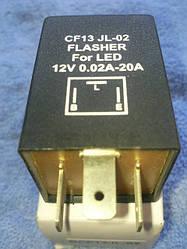 Реле указателей поворота для светодиодных ламп CF-13 JL-02 (Japanese and Korea cars)