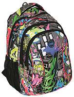 """Рюкзак молодежный """"Graffiti"""", CF85676 Cool For School ранец школьный"""