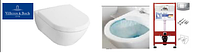 5614R001 SUBWAY 2.0 Direct Flush унитаз подвесной с крышкой s/c + Инсталяция TECE 9400005