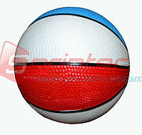Мячик игровой трехцветный d-14