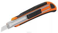 Нож выдвижной Универсал металлический, 3 лезвия, 130мм