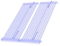 Монтажные крюки для вакуумных солнечных коллекторов Hewalex KSR