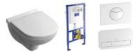 5688H101 O.NOVO унитаз подвесной крышкой softclose + ViConnect Монтажная система