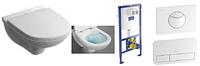 5660HR01 O.NOVO Direct Flush унитаз подвесной крышкой softclose + ViConnect Монтажная система