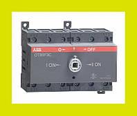 Выключатель нагрузки реверсивный OT80F3C ABB 80А 3-полюсный