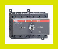 Выключатель нагрузки реверсивный OT100F3C ABB 100А 3-полюсный