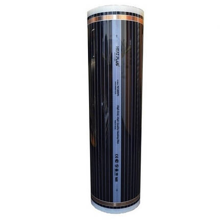Інфрачервона плівка Heat Plus стандарт 120 Вт/м.п. ширина 80 см, фото 2