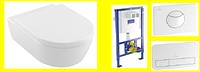 5656HR01 AVENTO Direct Flush унитаз подвесной крышкой softclose + ViConnect Монтажная система