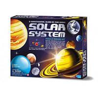 """Набор """"Детская лаборатория. Мобиль 3D солнечной системы (светится в темноте)"""" ТМ """"4М"""""""