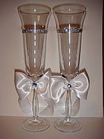 Бокалы для жениха и невесты Крокус