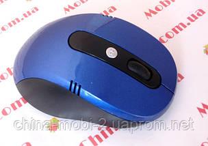 Мышь  оптическая беспроводная G108, blue, фото 2