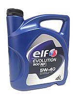 Моторное масло ELF 5W-40 4L Evolution 900 NF