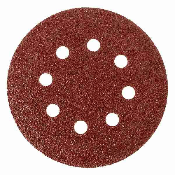 Шлифовальный круг Klingspor PS 18 EK P100 Ø 125 на липучке с отверстиями
