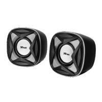 Портативная акустика 2.0 trust xilo compact speaker set (21180)