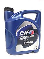 Моторное масло ELF 5W-40 5L Evolution 900 NF