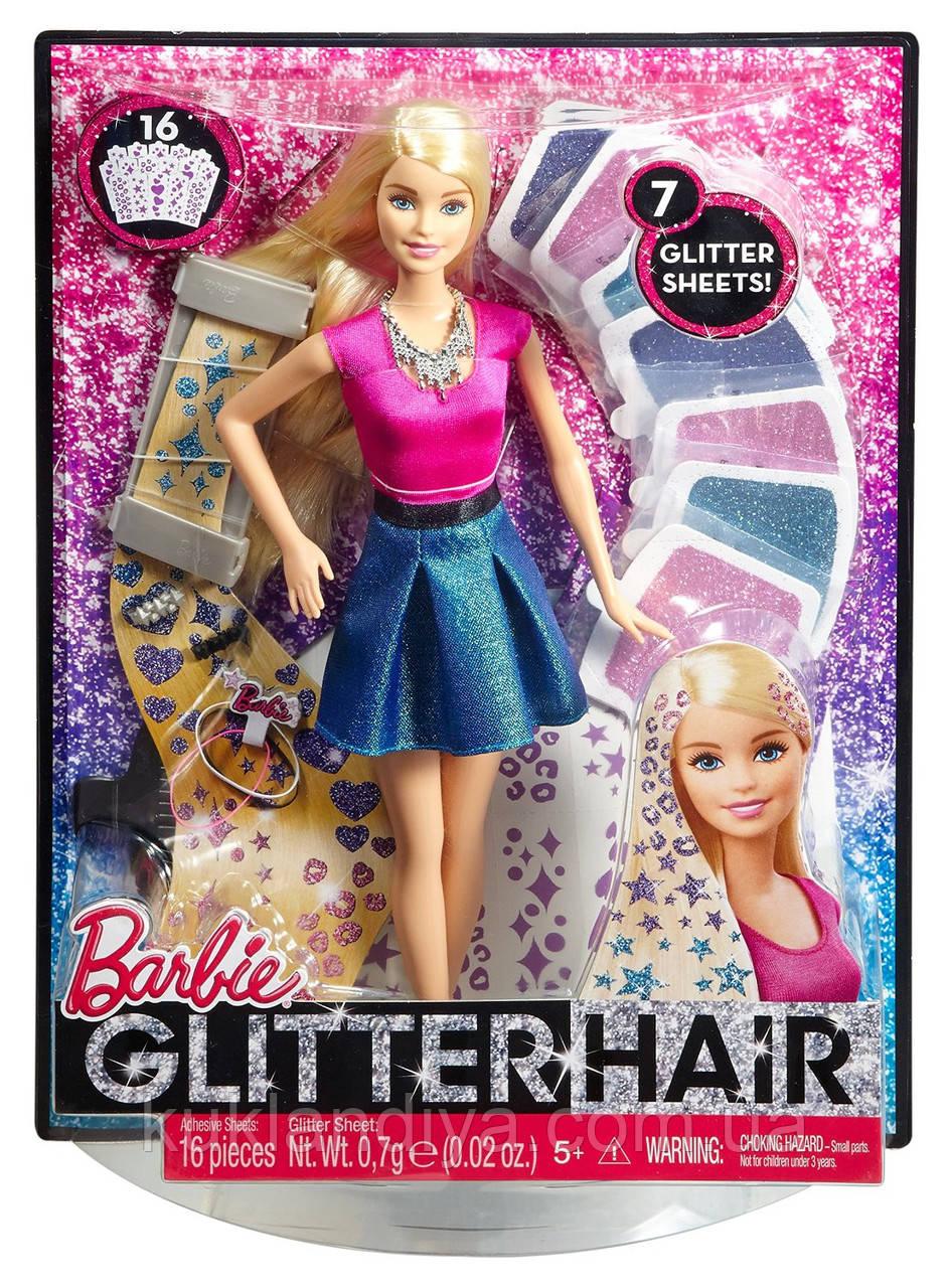 Кукла Barbie Блеск волос - Сияющие волосы