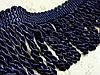 Бахрома, крученая Бархатный Синий № 83
