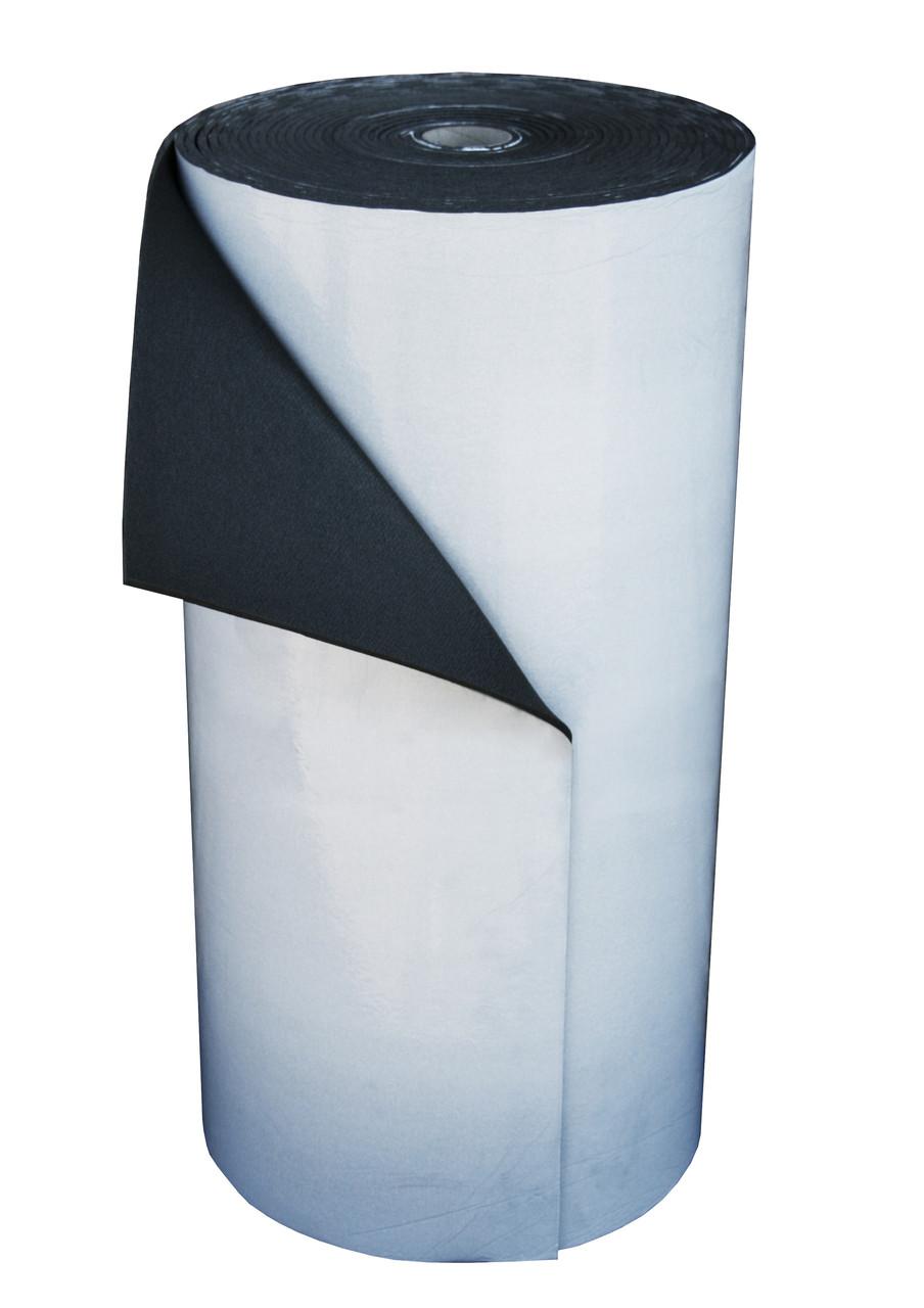 Пенополиэтилен Polifoam (Полифом) 8мм самоклеющийся (3008 1,0х25м с клейким слоем, рулон 25 кв.м)