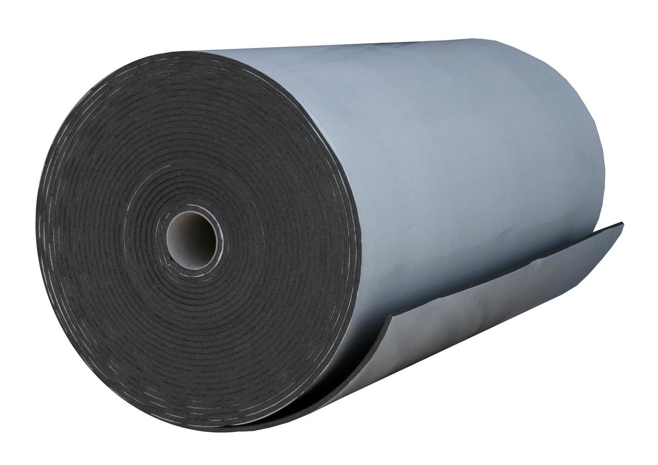 Пенополиэтилен Polifoam 8 мм самоклеющийся (3008 1,0х25м с клейким слоем, химически сшитый ППЭ)