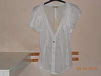 Блуза из белой марлевки