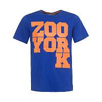 Футболка Zoo York Blue-Orange