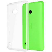 Чехол силиконовый Ультратонкий Epik для Nokia Microsoft Lumia 530 Прозрачный