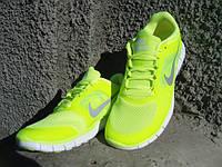Кроссовки мужские NIKE free run 5.0 GREEN (размеры 42-45)