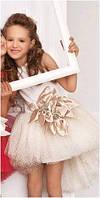 Нарядное пышное платье Diemaan 7810 неровный низ
