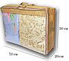 Сумка для хранения вещей\сумка для одеяла L (бежевый), фото 2